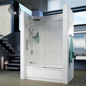 Fleurco Shower Door Kinetik-In-line tub (KN)
