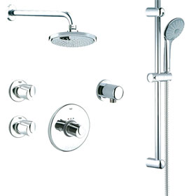 Grohe Basic THM Dual Function Shower Kit 117169