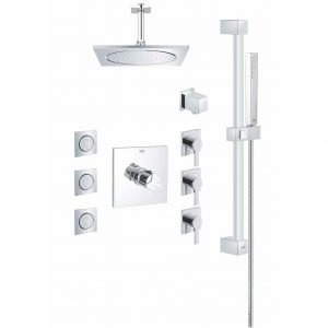 Grohe Square THM Custom Shower Kit 117163