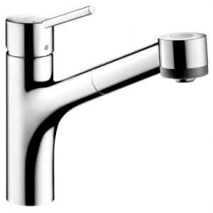 Hansgrohe Talis S 2-Spray Kitchen Faucet, Pull-Out