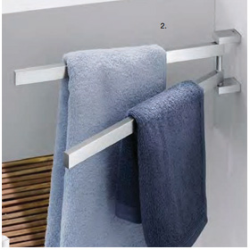 ICO Canada Bathroom Accessories - LINEA Towel Holder Swivelling