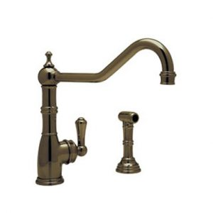 Perrin & Rowe Kitchen Faucet - Aquitine Single Lever Monobloc Mixer - C.4747