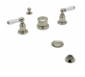 Perrin and Rowe - TRADITIONAL 5 PIECE BIDET- 3270-3271