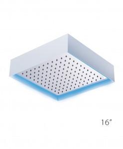 Pierdeco Design Shower Column - PDSH-CUBO-16-PSS-LED-WH- AquaMassage