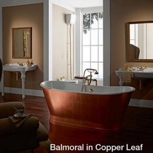 Recor Freestanding Bathtub - Balmoral Cast Iron Bathtub
