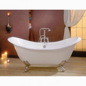 "Recor Freestanding Bathtub -Regency 72""-Cast Iron"