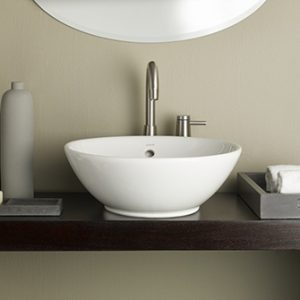 Recor Overcounter Sink - Water Lily 13.75""
