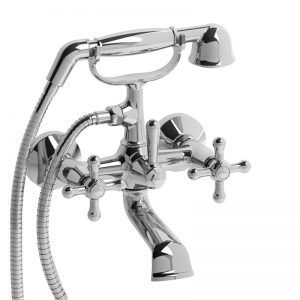 "Riobel 6"" Tub Filler With Hand Shower RO06+"