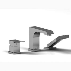 Riobel Zendo 3-Piece Deck Mount Tub Filler ZO10