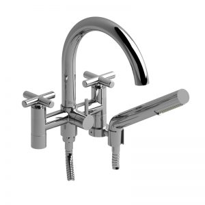 """Riobel-PALLACE-6"""" Tub Filler With Hand Shower PA06+"""
