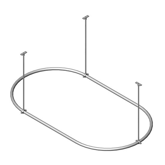 Rubinet Curtain Hoops - 9HSC2