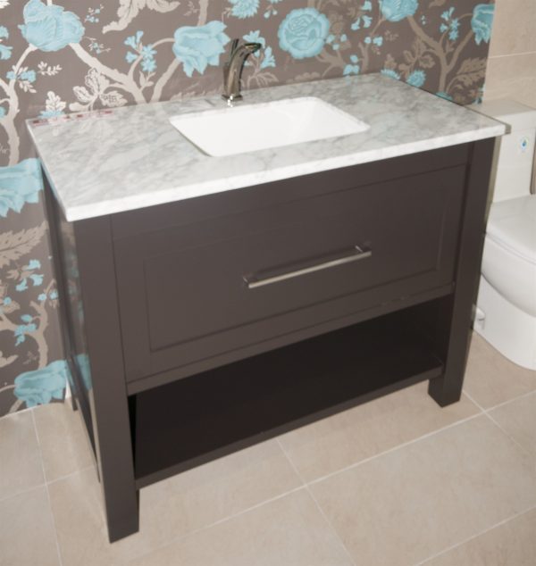 Shaker 48 Open Shelf Traditional, contemporary and modern style vanities