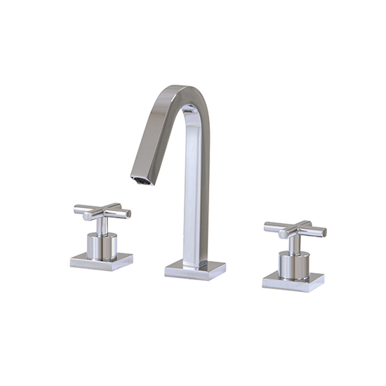 Short widespread lavatory faucet - X7710