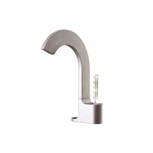 Single-hole lavatory faucet with Aquacristal handle - 39514Y