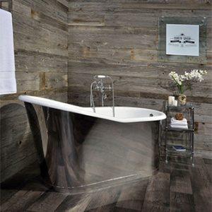 Slik Cast Iron Mirror-5ft Freestanding Bathtub