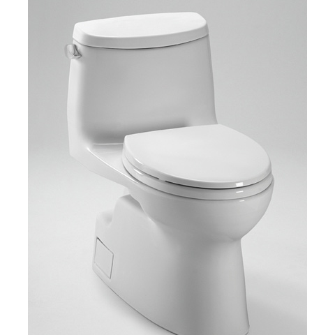 TOTO Carlyle II One Piece High Efficiency Toilet, with SanaGloss 1.28GPF