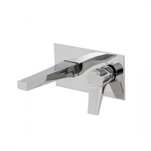 Wallmount lavatory faucet - 17029