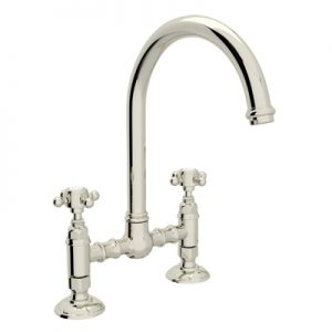 COUNTRY KITCHEN DECK MOUNT C-SPOUT BRIDGE FAUCET # A1461