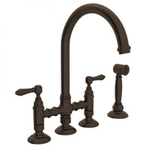 COUNTRY KITCHEN DECK MOUNTED 3LEG BRIDGE FAUCET # A1461WS