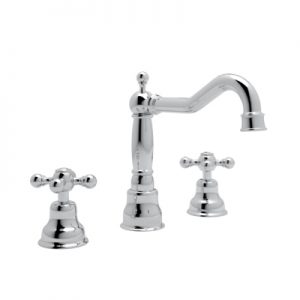 ARCANA 3-HOLE WIDESPREAD FAUCET #AC107 by Rohl
