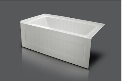 "Non Standard 54""Acrylic Bathtub"