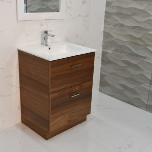 "Bliss 24"" Walnut Vanity washroom and powderroom"