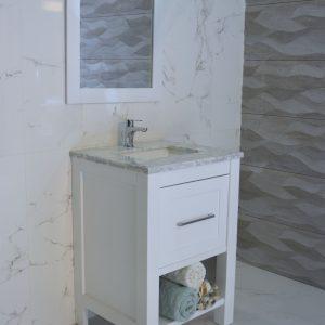 Bliss Shaker 24 inch Vanity bathroom powderroom mirror