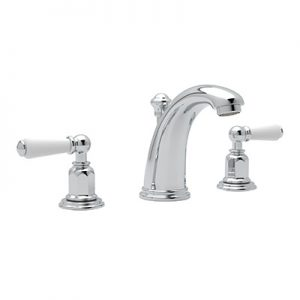 ROHL - PERRIN & ROWE® EDWARDIAN HIGH NECK WIDESPREAD LAVATORY FAUCET- #3760