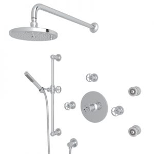 ROHL - CAMPO PRESSURE BALANCE SHOWER PACKAGE #CMKIT27