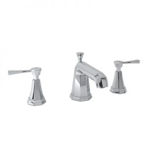 ROHL - PERRIN & ROWE® DECO HIGH NECK WIDESPREAD LAVATORY FAUCET #U.3141