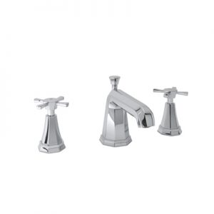 ROHL - PERRIN & ROWE® DECO HIGH NECK WIDESPREAD LAVATORY FAUCET #U.3142