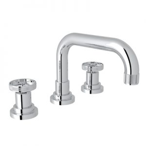 ROHL - CAMPO U-SPOUT WIDESPREAD LAVATORY FAUCETT #A3318IW