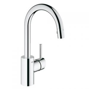 Grohe Concetto Pull Out Dual Spray Bar Faucet 31479000 Chrome