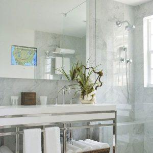Loft Bathroom Mirror TV