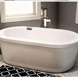 Ruby 3666 Oval Bathtub Freestanding Bathtub