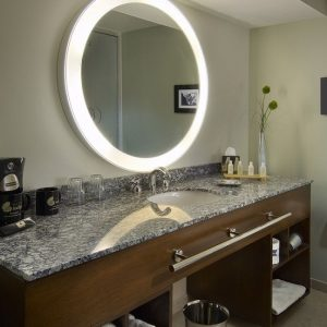 Trinity Lighted Mirror
