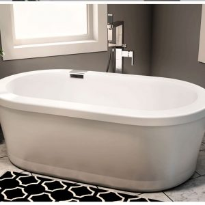 Neptune Ruby 3260 oval bathtub