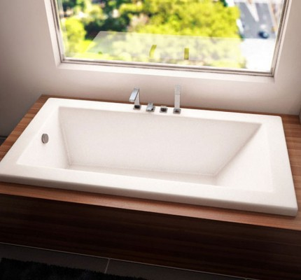 Neptune Zen 3260 Rectangular Bathtub