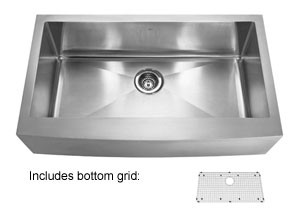 Kindred KCFS36B/10-10BG Apron Front Sink