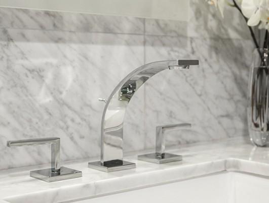 Rohl WA102L-APC-2 Widespread Lavatory Faucet