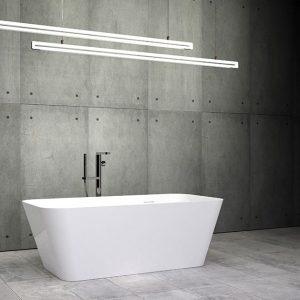 "Slik Portfolio EIGER 60"" SLIK Stone freestanding tub | ST6028"