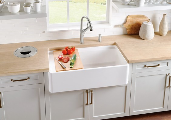 401808 Blanco profina fireclay apron kitchen sinks