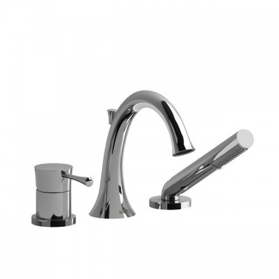 Riobel Edge - Ed10 3-Piece Deck Mount Tub Filler
