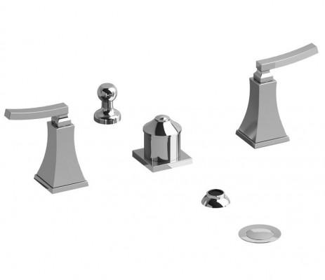 Riobel Eiffel EF09L 4 piece bathroom bidet faucets