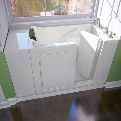acrylic luxury series 28x48-inch walk-in bathtub