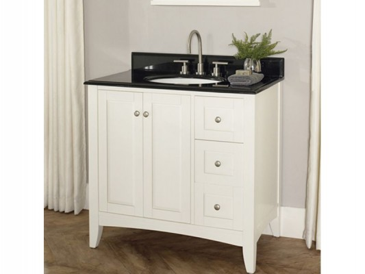 Fairmont Design bathroom countertops