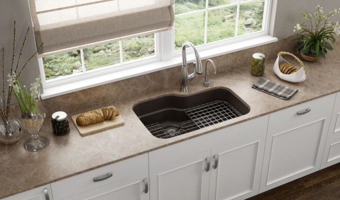 franke orca mocha Granite undermount kitchen sinks