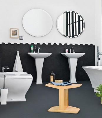 Artceram bathroom sinks jazz collection