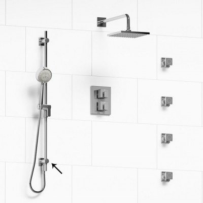 riobe -zendo-kit 6446 thermostatic shower systems