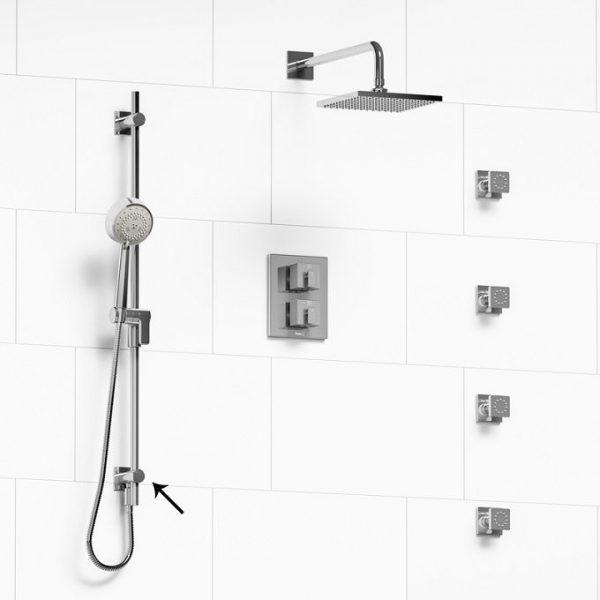 riobe -zendo-kit 6446 thermostatic shower systems